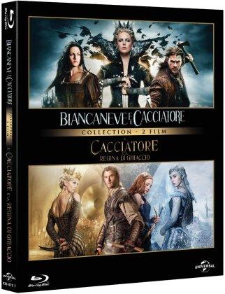 Biancaneve e il cacciatore / Il cacciatore e la Regina di Ghiaccio (2 Blu-ray)