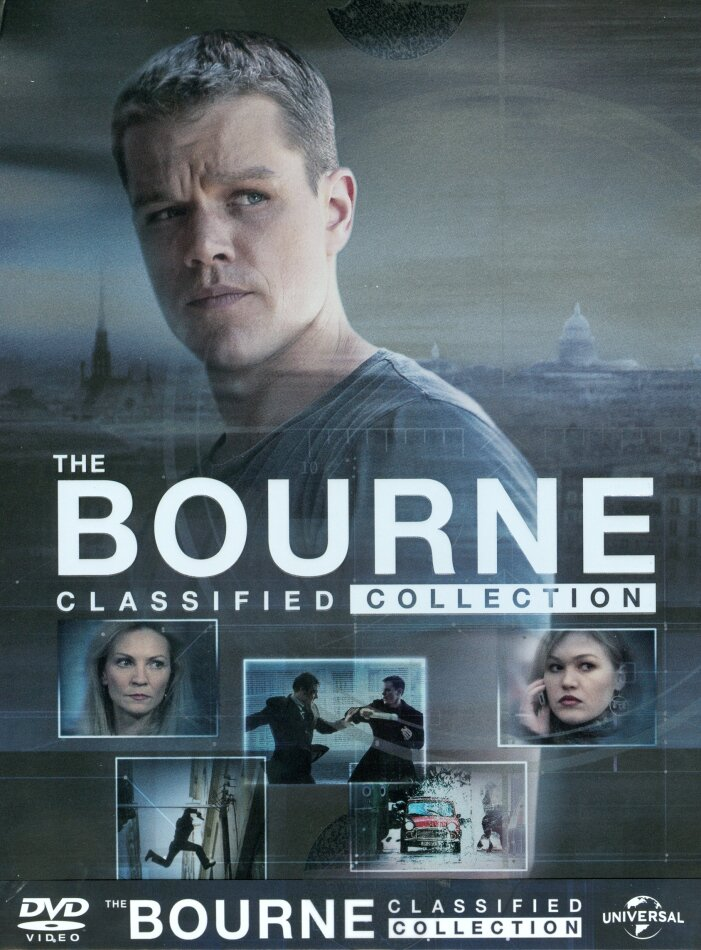 The Bourne Classified Collection (Digibook, 5 DVD)