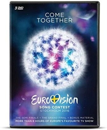 Various Artists - Eurovision Song Contest 2016 - Stockholm (3 DVDs)