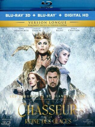 Le Chasseur et la Reine des Glaces (2016) (Kinoversion, Langfassung, Blu-ray 3D + Blu-ray)