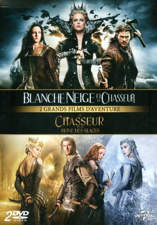 Blanche Neige Et Le Chasseur Le Chasseur Et La Reine Des Glaces 2 Dvd Cede Com