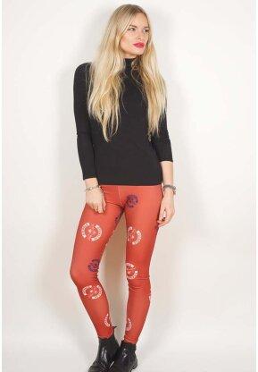 Avenged Sevenfold Ladies Fashion Leggings - Death Bat