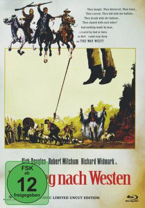 Der Weg nach Westen (1967) (Cover B, Limited Edition, Mediabook, Uncut, Blu-ray + DVD)