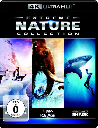 Extreme Nature Collection - Antarctica: On the Edge / Titans of the Ice Age / Great White Shark (4K Mastered, Imax)
