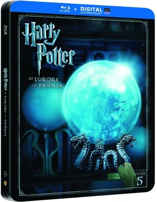 Harry Potter et l'ordre du Phénix (2007) (Limited Edition, Steelbook, 2 Blu-rays)