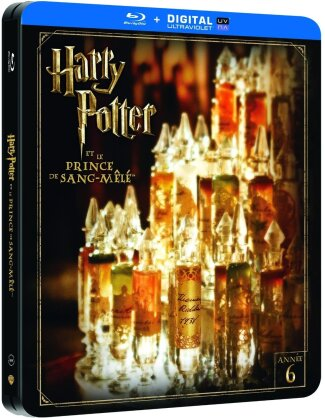 Harry Potter et le prince de sang-mêlé (2009) (Limited Edition, Steelbook, 2 Blu-rays)