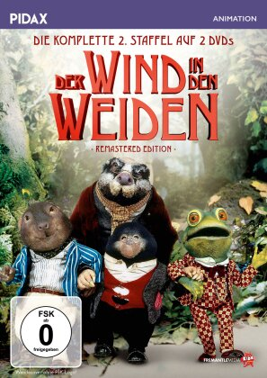 Der Wind in den Weiden - Staffel 2 (Pidax Animation, Remastered, 2 DVDs)