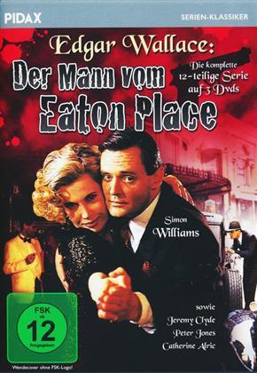 Edgar Wallace: Der Mann vom Eaton Place - Die komplette 12-teilige Krimiserie (pidax serien klassiker, 3 DVD)