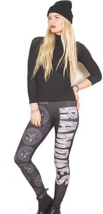 Ramones Ladies Fashion Leggings - Presidential Seal - Taglia M/L