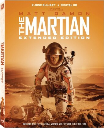 Martian (2015) (Widescreen, Extended Edition, 2 Blu-rays)
