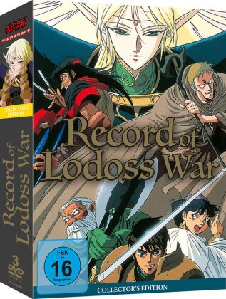 Recort of Lodoss War (Collector's Edition, 3 DVDs)