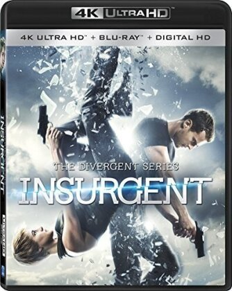 Insurgent - The Divergent Series (2014) (4K Ultra HD + Blu-ray)