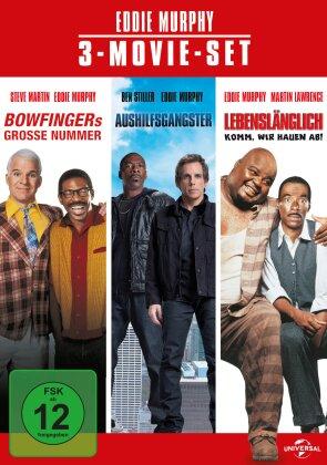 Eddie Murphy 3-Movie Set - Bowfingers grosse Nummer / Aushilfsgangster / Lebenslänglich - Komm wir hauen drauf (3 DVDs)