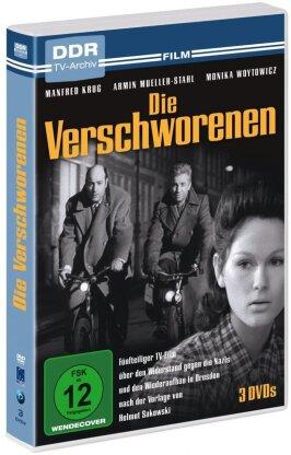 Die Verschworenen (1971) (DDR TV-Archiv, s/w, 3 DVDs)