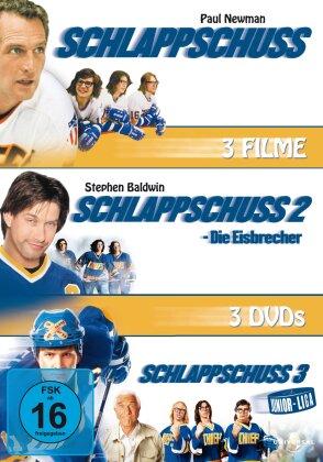 Schlappschuss 1-3 (3 DVDs)