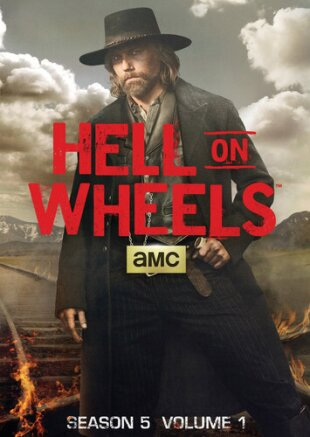 Hell on Wheels - Season 5.1 (2 DVDs)