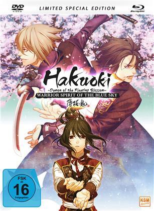 Hakuoki - Warrior Spirit of the Blue Sky (Limited Special Edition, Mediabook, Blu-ray + DVD)
