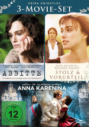 Keira Knightley - 3-Movie Set (3 DVDs)