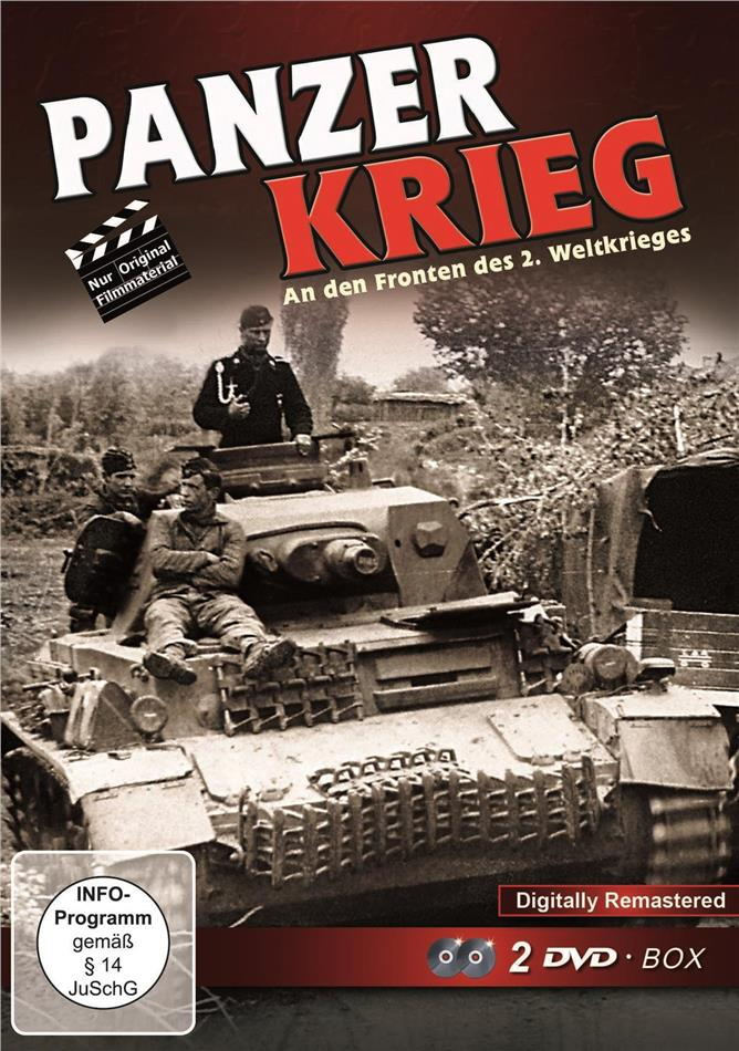 Panzer Krieg - An den Fronten des 2. Weltkrieges (Remastered, 2 DVDs)