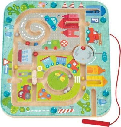 Stadtlabyrinth - Magnetspiel