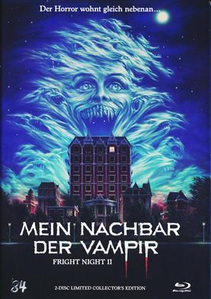 Mein Nachbar der Vampir (1988) (Cover A, Mediabook, Limited Collector's Edition, Uncut, Blu-ray + DVD)