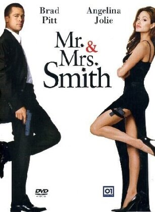 Mr. & Mrs. Smith (2005) (Special Edition, Steelbook, 2 DVDs)