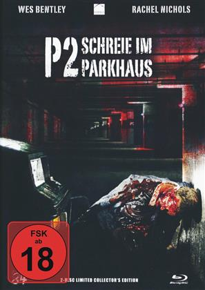 P2 - Schreie im Parkhaus (2007) (Cover B, Mediabook, Limited Collector's Edition, Blu-ray + DVD)