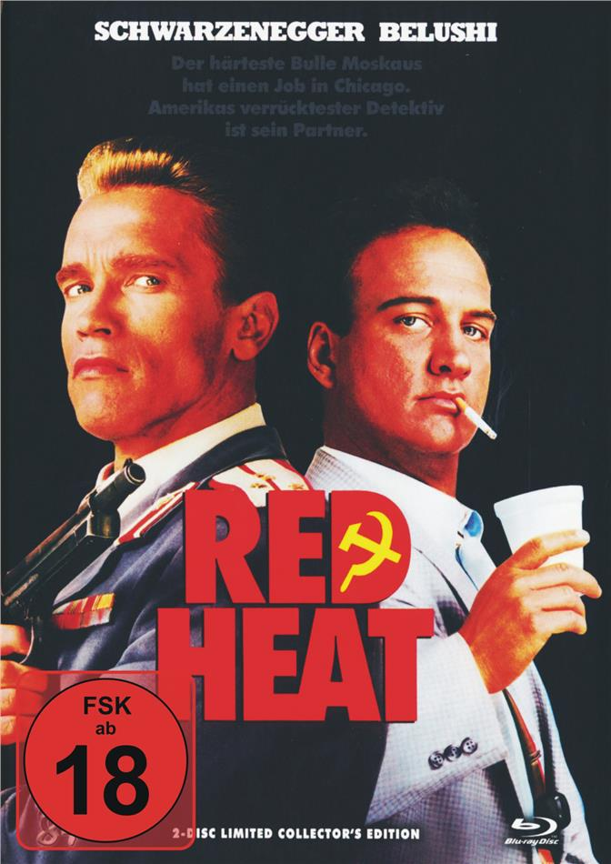Red Heat (1988) (Cover A, Limited Collector's Edition, Mediabook, Blu-ray + DVD)