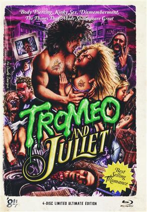 Tromeo and Juliet (1996) (Limited Ultimate Edition, Mediabook, Blu-ray + 3 DVDs)