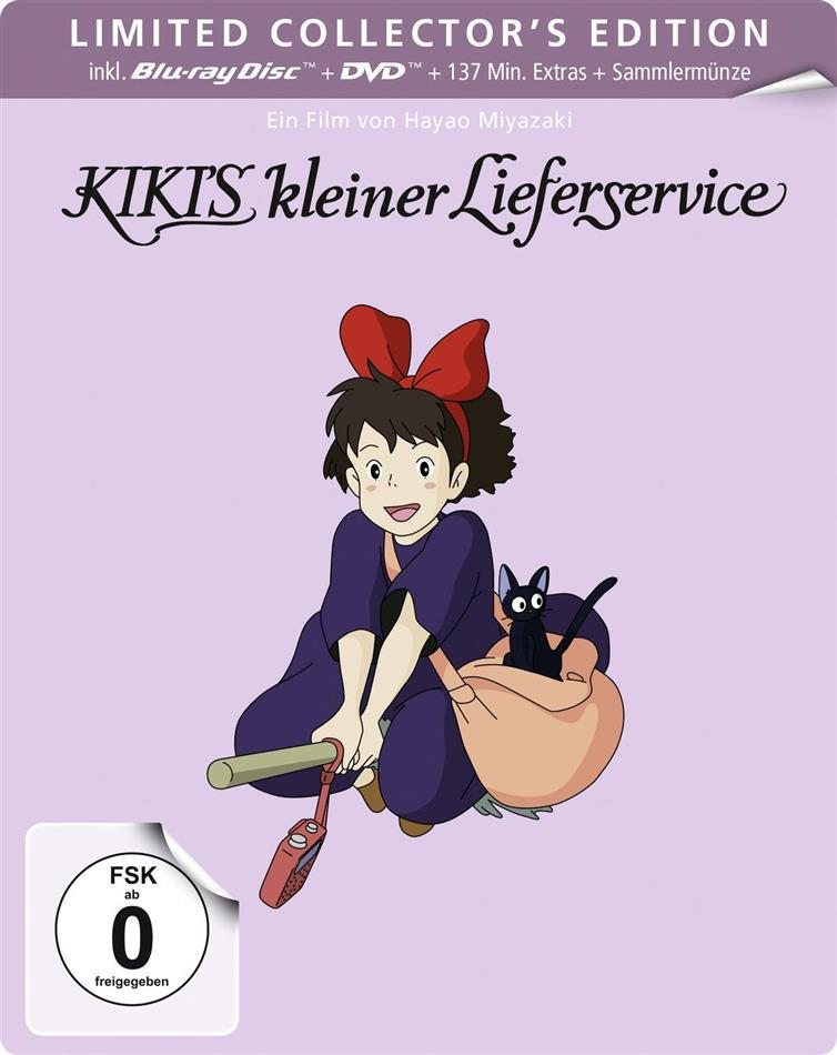 Kiki's kleiner Lieferservice (1989) (Limited Collector's Edition, Steelbook, Blu-ray + DVD)