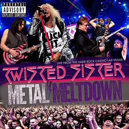 Twisted Sister - Metal Meltdown - Live From the Hard Rock Casino Las Vegas (Blu-ray + DVD + CD)