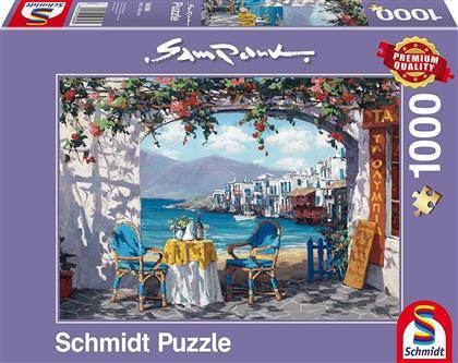 Sam Park: Rendez-vous auf Mykonos - 1000 Teile Puzzle