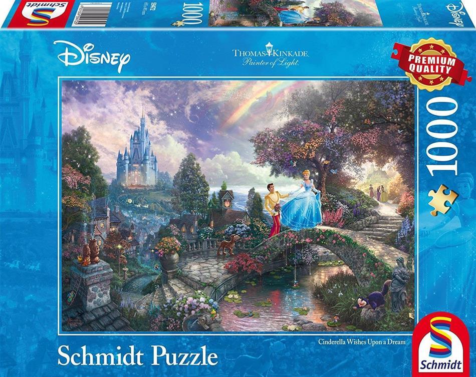 Disney: Cinderella - 1000 Teile Puzzle