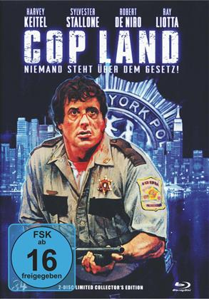 Cop Land (1997) (Cover A, Director's Cut, Kinoversion, Limited Collector's Edition, Mediabook, Blu-ray + DVD)