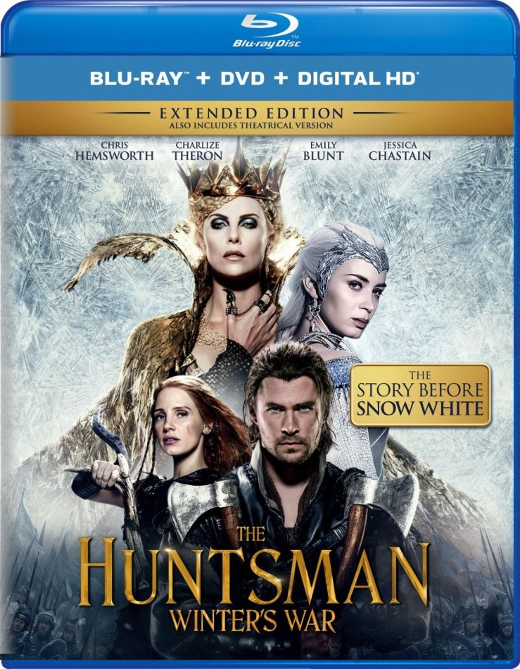 The Huntsman - Winter's War (2016) (Extended Edition, Kinoversion, Blu-ray + DVD)