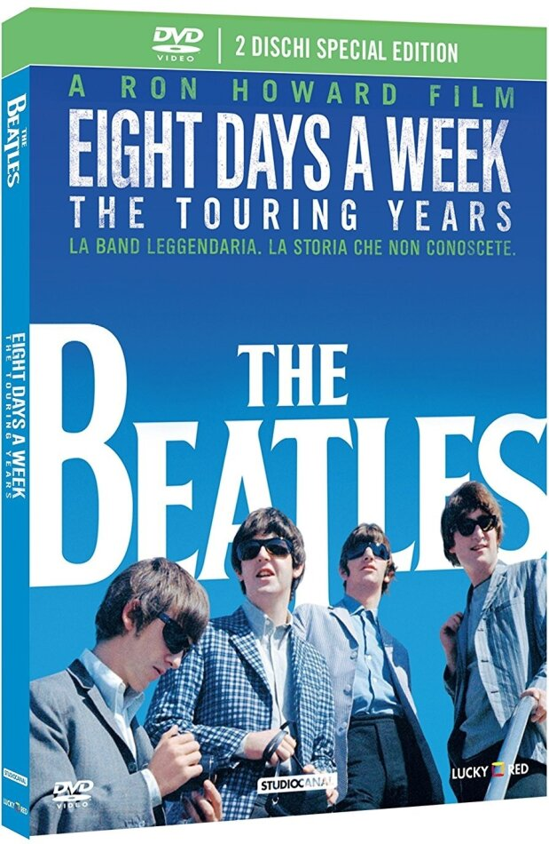 The Beatles: Eight Days a Week - The Touring Years (2016) (Special Edition, 2 DVDs)