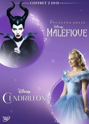 Maléfique / Cendrillon (Box, 2 DVDs)