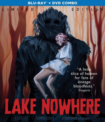 Lake Nowhere (2014) (Limited Edition, Blu-ray + DVD)