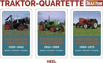 Historische Traktoren - Das 3er Quartett