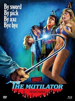 The Mutilator (1984) (Cover A, Limited Edition, Mediabook, Uncut, Blu-ray + DVD)