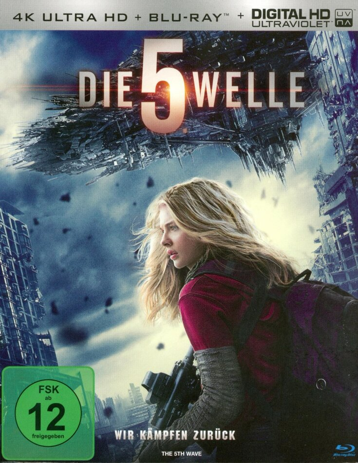 Die 5. Welle (2016) (4K Ultra HD + Blu-ray)