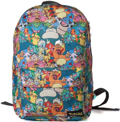 Pokémon: Characters - All Over Printed Backpack