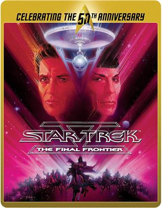 Star Trek 5 - The Final Frontier (1989) (50th Anniversary Limited Edition, Steelbook)