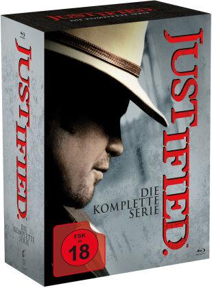 Justified - Die Komplette Serie - Staffel 1 - 6 (18 Blu-rays)