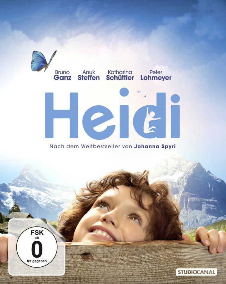 Heidi (2015) (inkl. Booklet, Postkarten und Poster, Digibook)