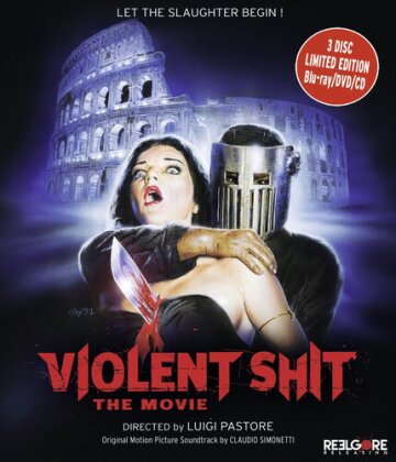 Violent Shit - The Movie (2015) (Limited Edition, DVD + Blu-ray + CD)