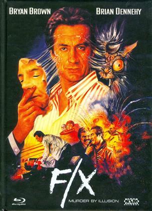 F/X - Murder by Illusion (1986) (Cover B, Limited Edition, Mediabook, Blu-ray + DVD)