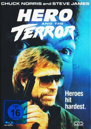 Hero and the Terror (1988) (Cover B, Mediabook, Blu-ray + DVD)