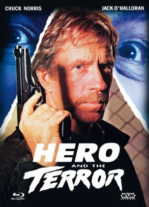 Hero and the Terror (1988) (Cover C, Mediabook, Blu-ray + DVD)