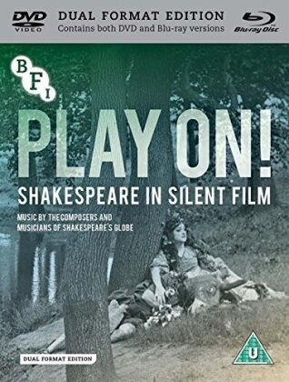 Play On! - Shakespeare In Silent Film (DualDisc, s/w, Blu-ray + DVD)